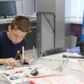 Профориентация: на саратовском заводе СЭЗ имени Серго Орджоникидзе школьники играючи собирают 3D-принтер